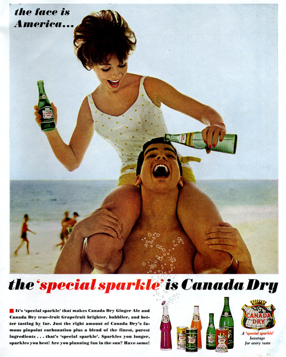 Canada Dry ad