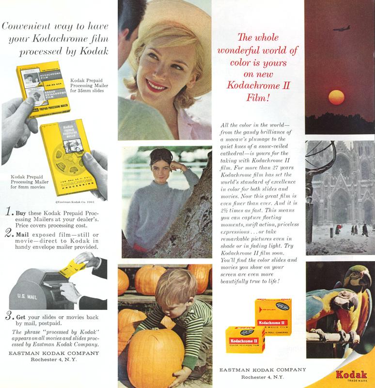1960s Kodak ad