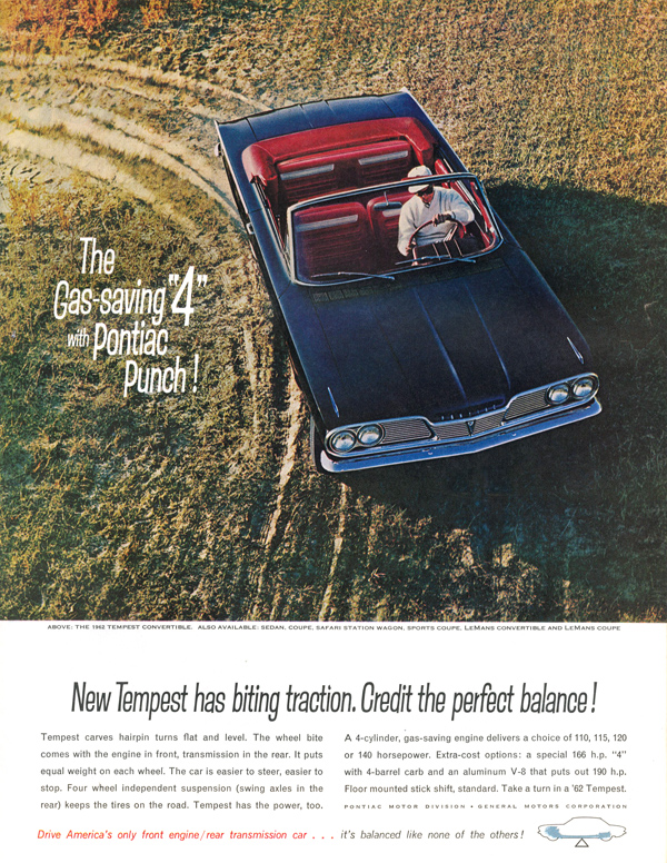 Pontiac convertible ad