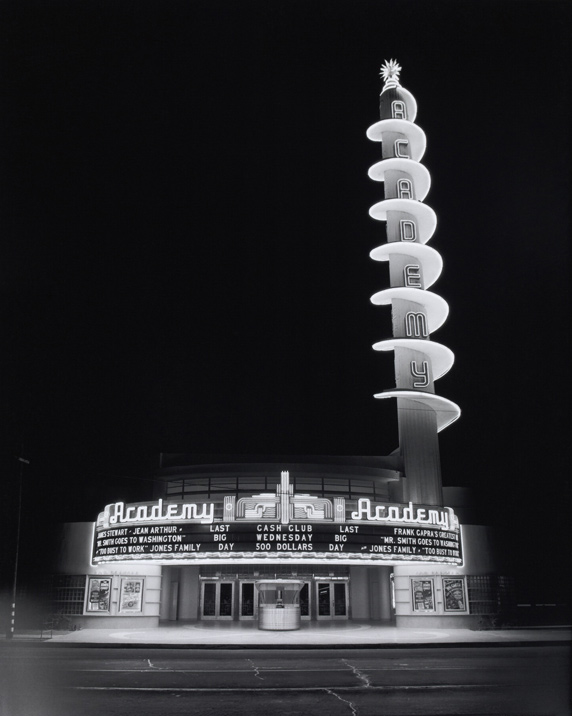 Julius Shulman: Academy Theater