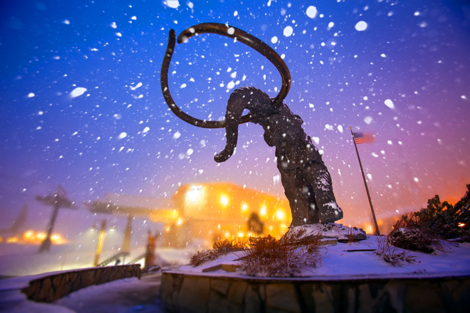 Mammoth Snowstorm