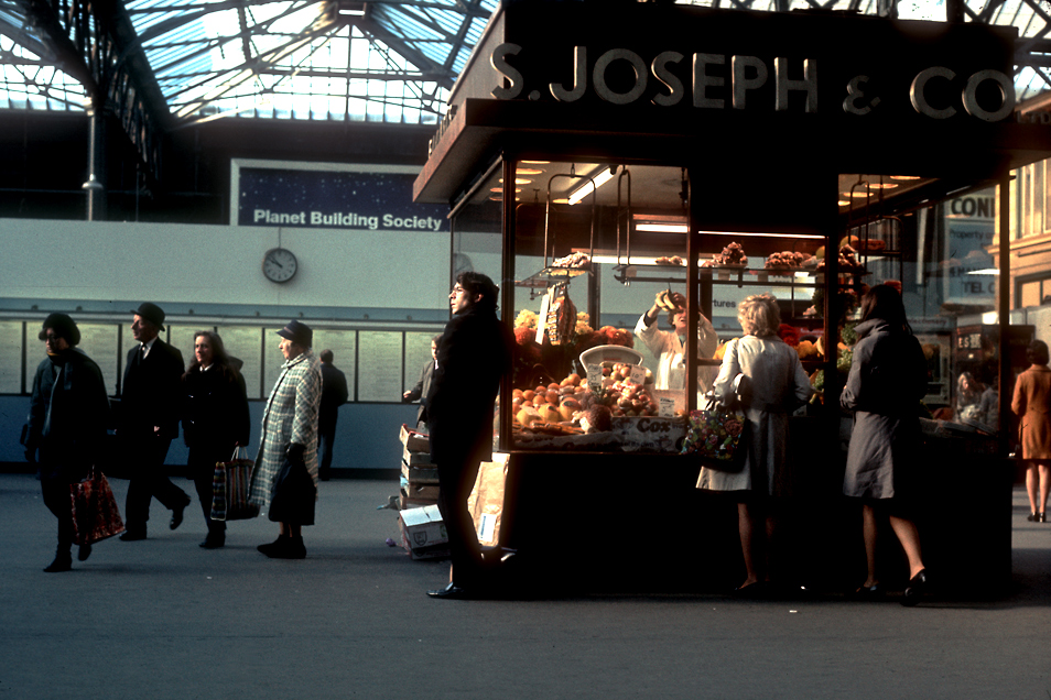 Charing Cross Station, London - October 1971