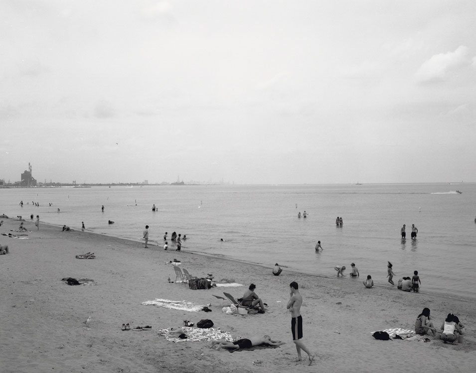 Wihala County Park Beach, Lake County Indiana 1999