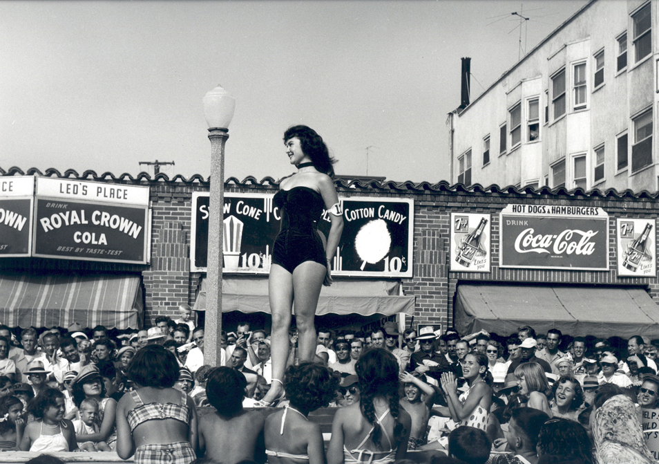 One Girl, Muscle Beach