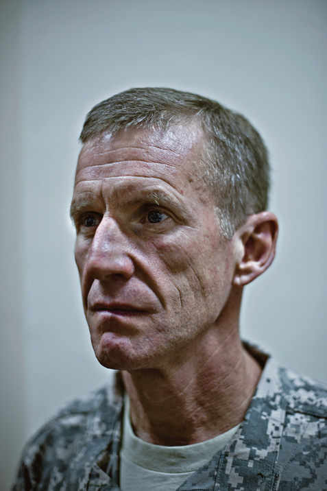 A portrait of General Stanley A. McChrystal.