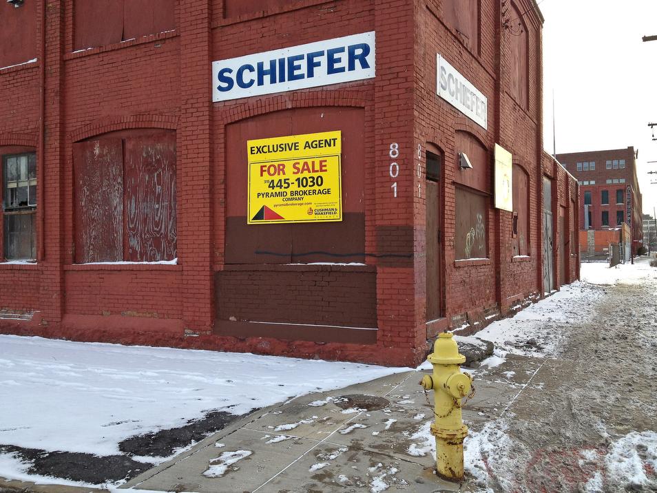 West Fayette Street #3, 2012.